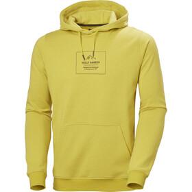 Helly Hansen F2F Bawełniana bluza z kapturem Mężczyźni, żółty